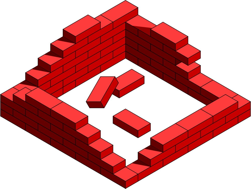 Brick Wall Lego House CC0 - Angle,Line,Red CC0 Free Download