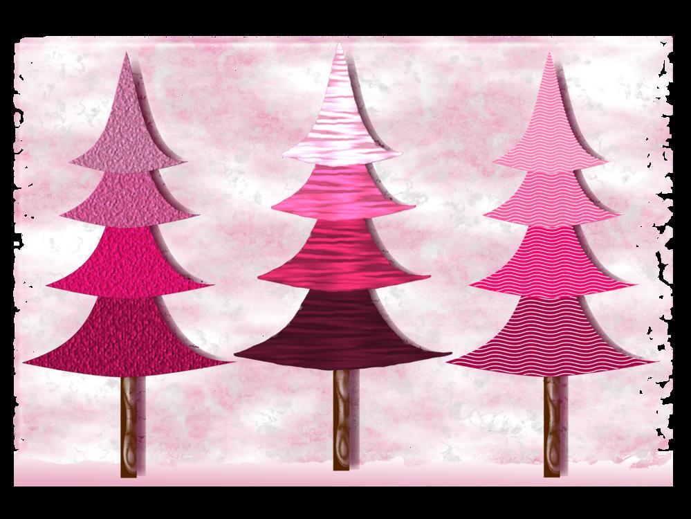 Christmas Tree Pine Fir Wood Cc0 Pink Christmas Decoration