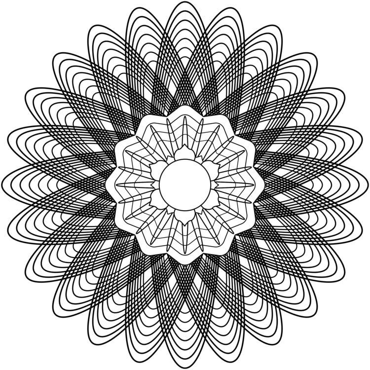Sacred geometry Mathematics Drawing Number CC0 - Visual Arts,Flower