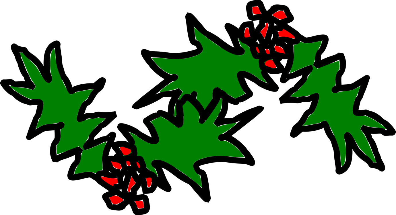 Christmas Holly Clipart Transparent.Plant Flora Leaf Clipart Royalty Free Svg Transparent