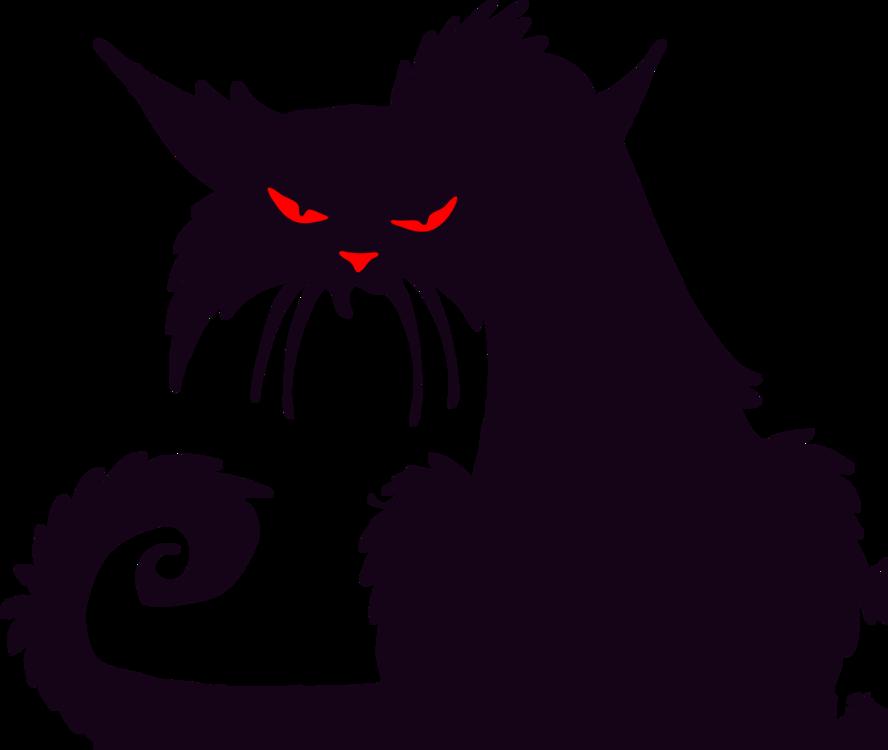 Carnivoran,Demon,Black Cat