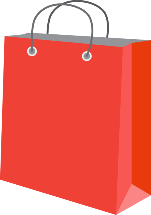 Shopping Bag,Red,Orange