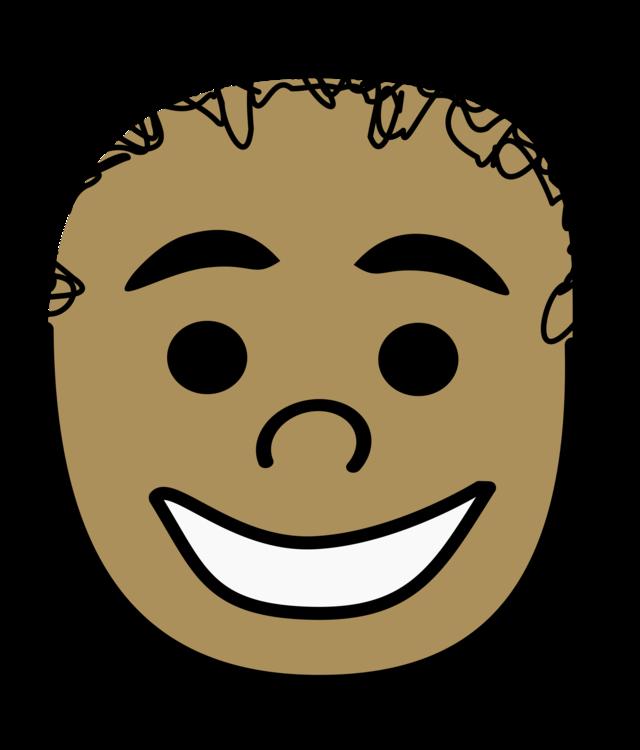Cartoon Hair Face Boy Smiley Free Commercial Clipart