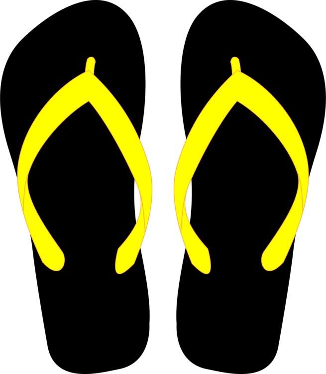 Sandal,Symbol,Yellow