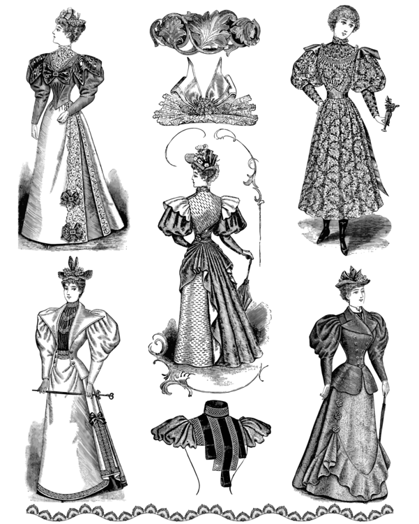 Standing,Gown,Fashion Illustration