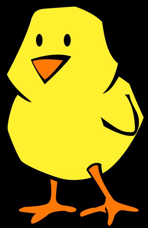 Water Bird,Artwork,Yellow