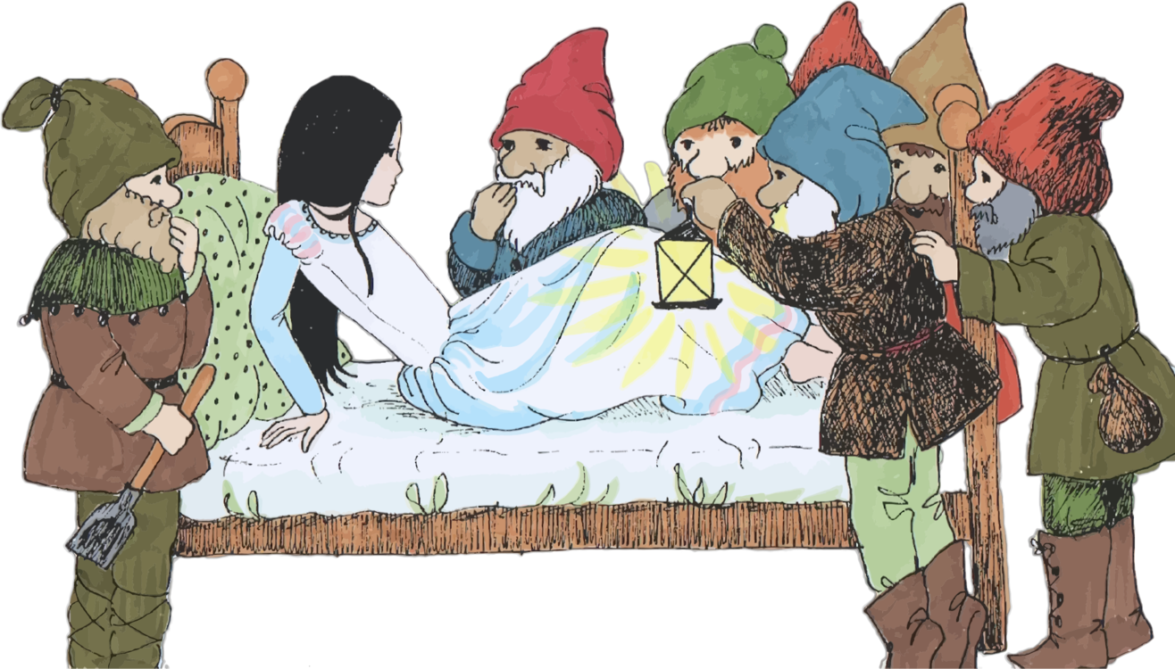 Snow White Seven Dwarfs Fairy tale Brothers Grimm CC0 - Human