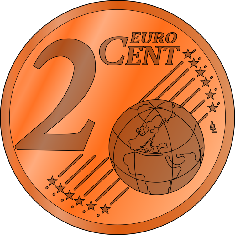 2 Euro Cent Clip Art Best Graphic Sharing