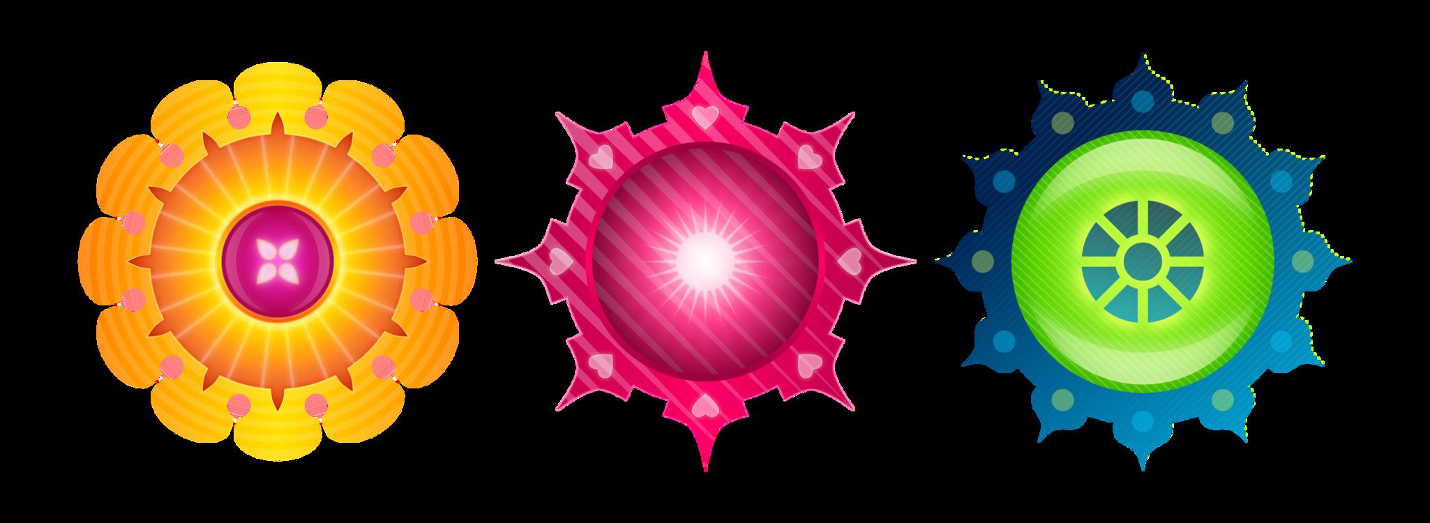Flower,Symmetry,Circle