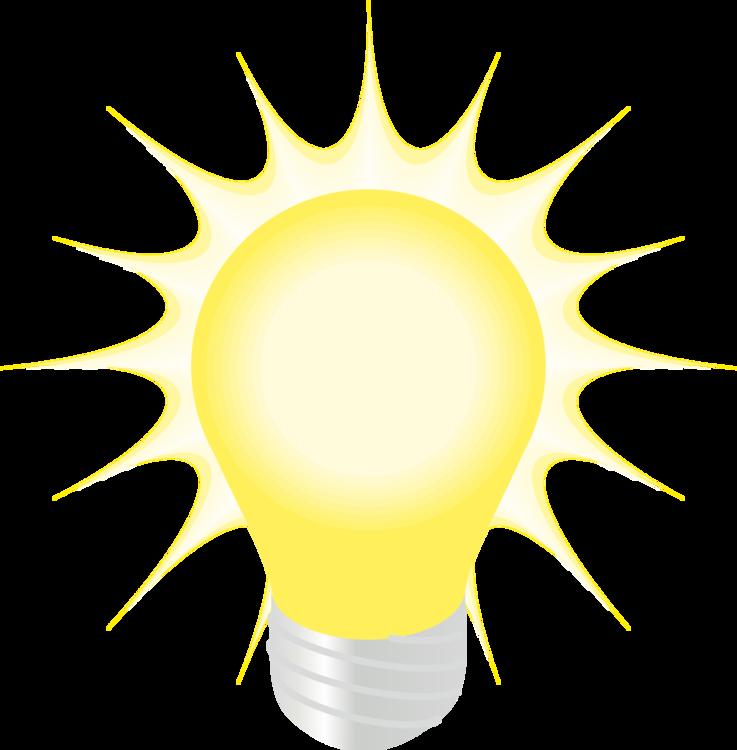 Yellow,Light,Incandescent Light Bulb