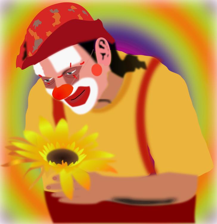 Clown,Plant,Flower