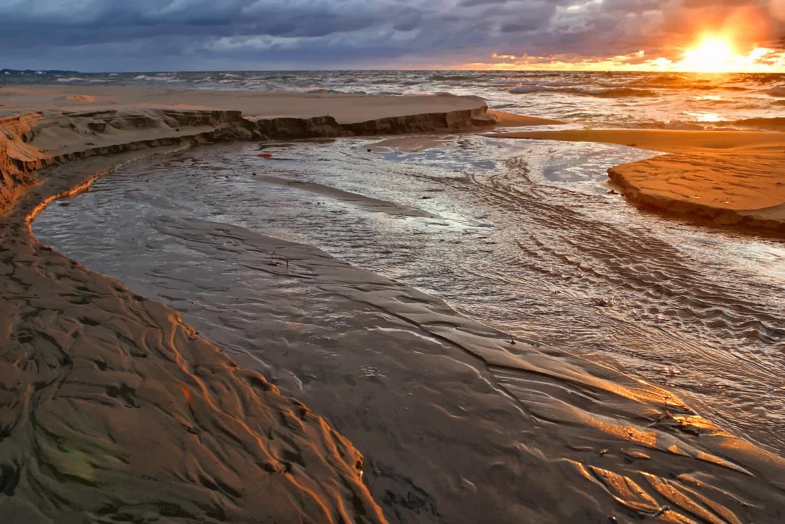 Horizon,Geology,Wave