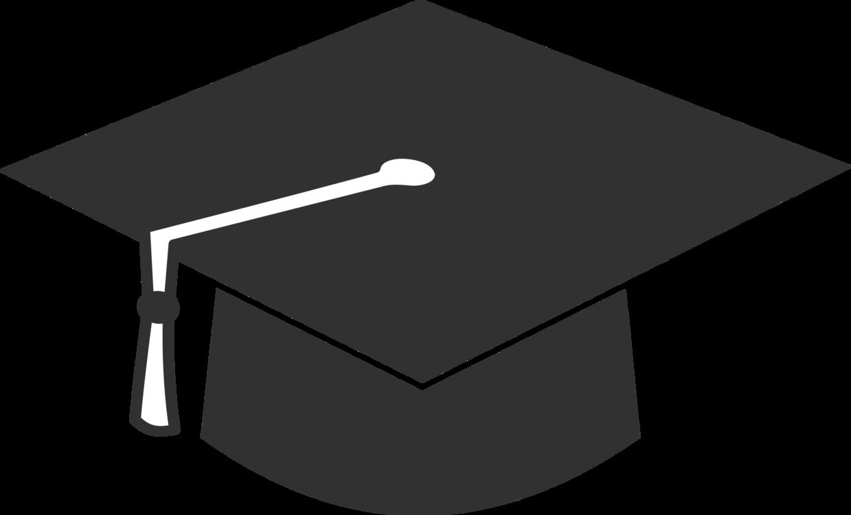54b0eedc76b Square academic cap Graduation ceremony Hat T-shirt CC0 - Angle ...