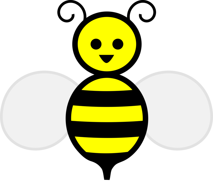 Honey Bee,Smiley,Pollinator