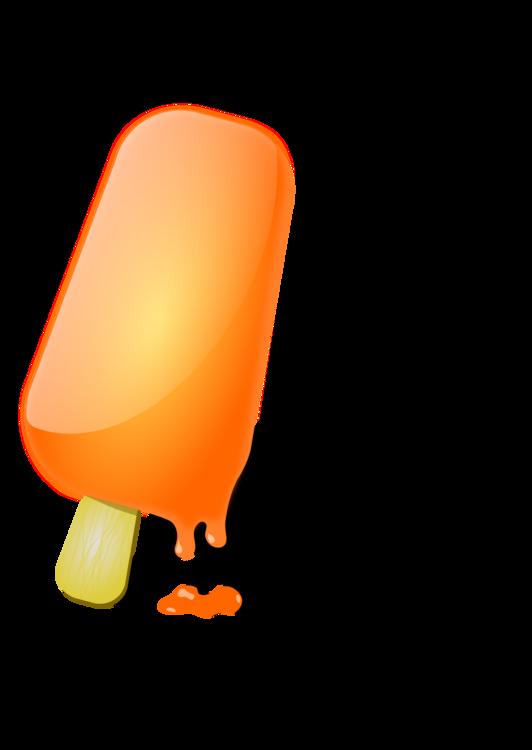 Orange,Ice Pop,Ice Cream
