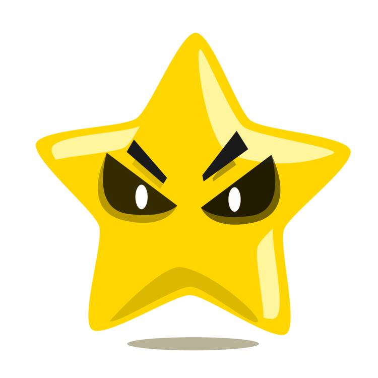 Character Star Drawing Number Symbol Free Commercial Clipart