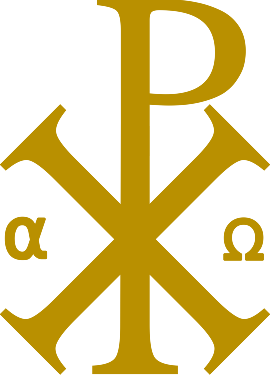 Chi Rho Symbol Alpha And Omega Christianity Free Commercial Clipart
