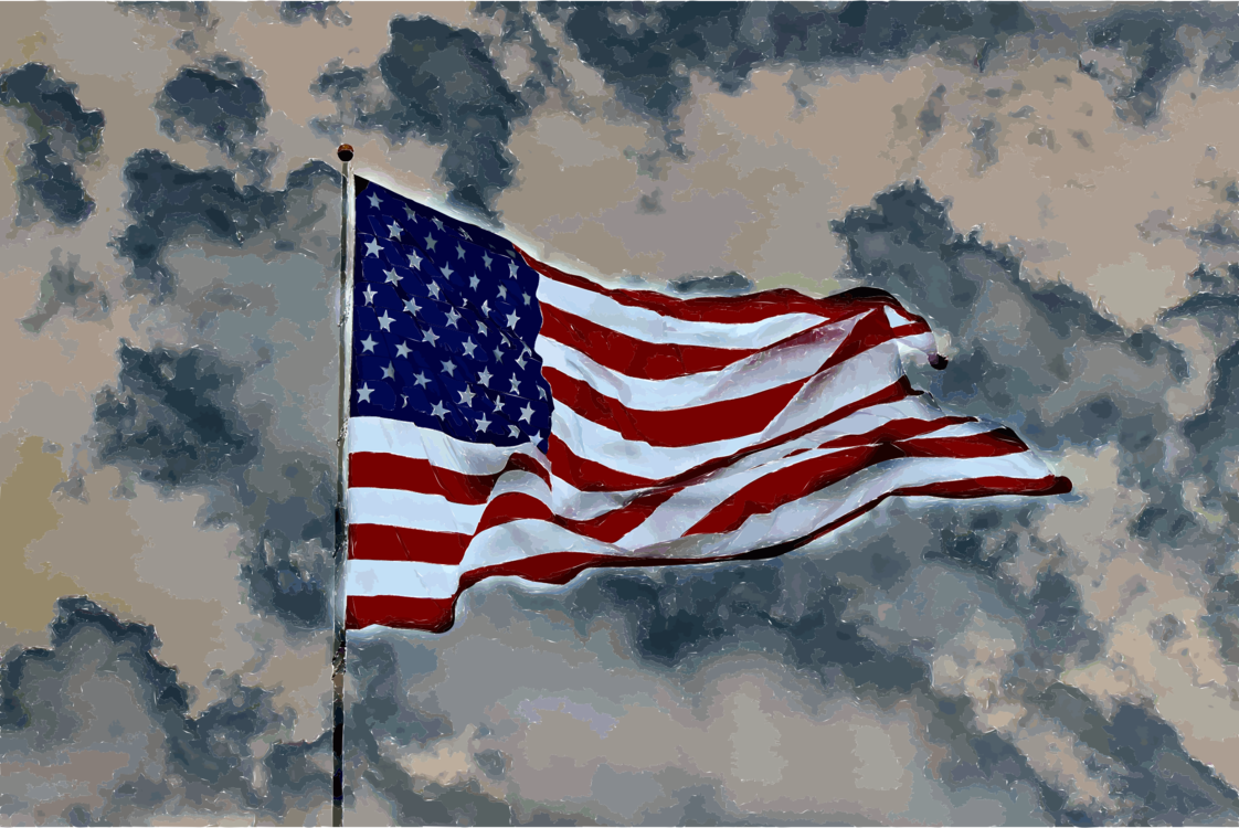 Flag Of The United States,Flag,Sky
