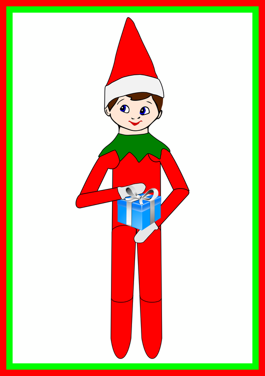 Christmas Elf On The Shelf Clipart.Christmas Decoration Art Area Png Clipart Royalty Free Svg