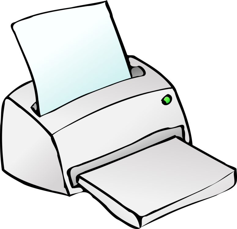 printer inkjet printing computer icons output device free commercial rh kisscc0 com print clip art poster size on word printing clip art free