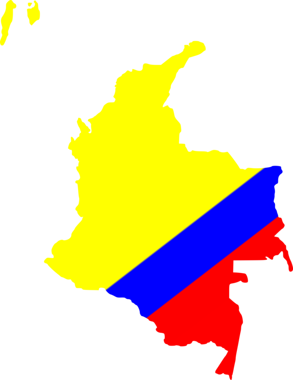 Flag of Colombia World map National flag free commercial clipart ...