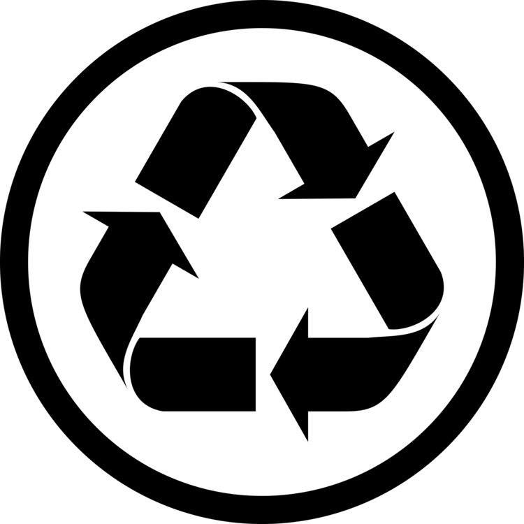 Recycling Symbol Reuse Paper Waste Free Commercial Clipart