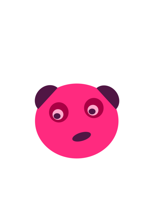 Pink,Smiley,Snout