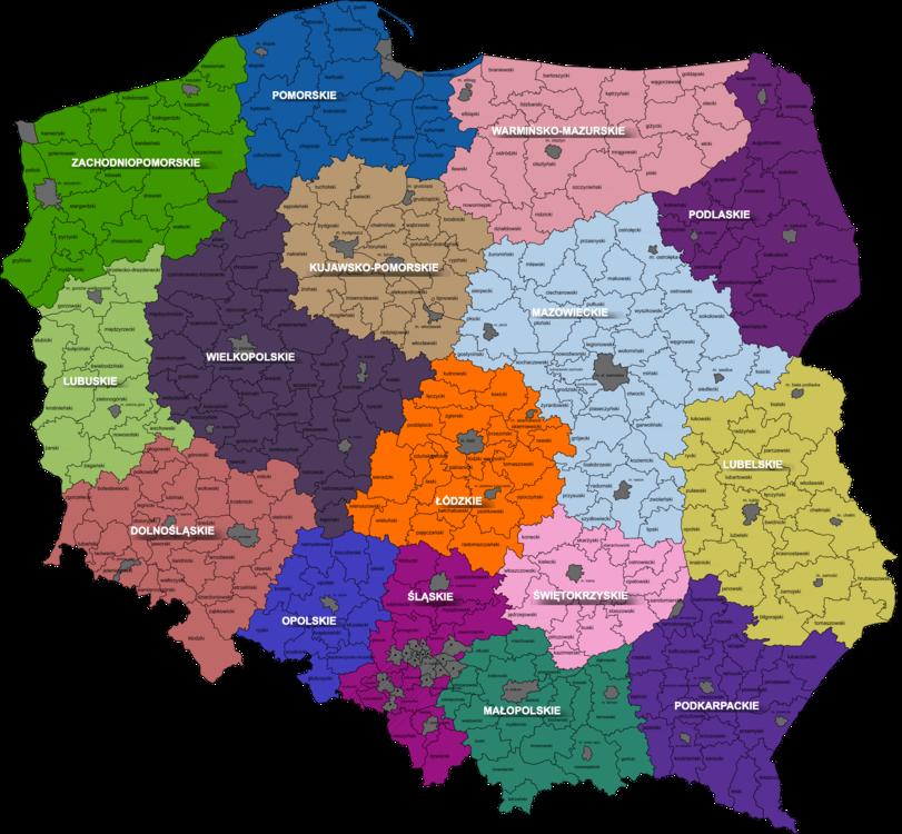 Map,World,Poland