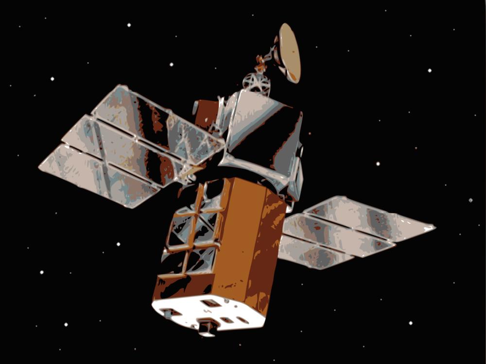Satellite,Spacecraft,Space