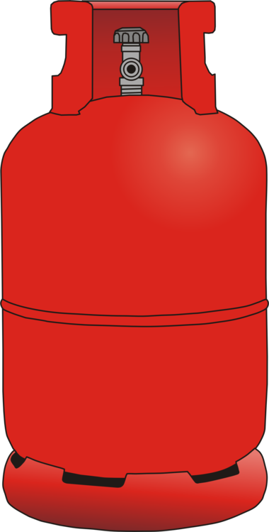 Cylinder,Red,Compressed Gas Cylinder  Industrial Shop Safety
