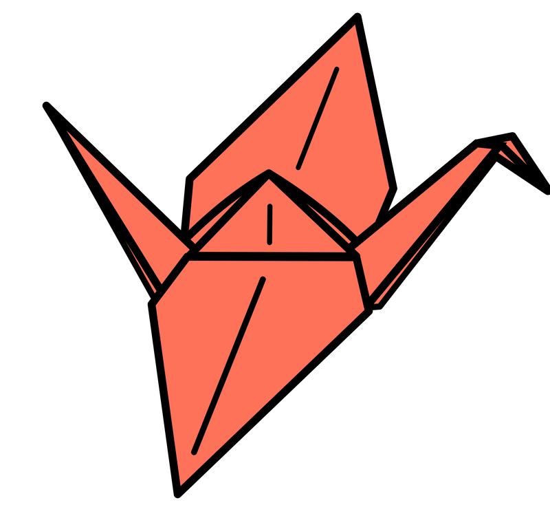 crane origami paper orizuru origami paper free commercial clipart rh kisscc0 com clipart origami origami owl clip art