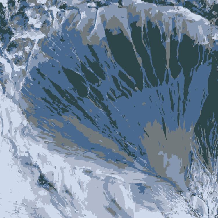 Glacial Lake,Massif,Terrain