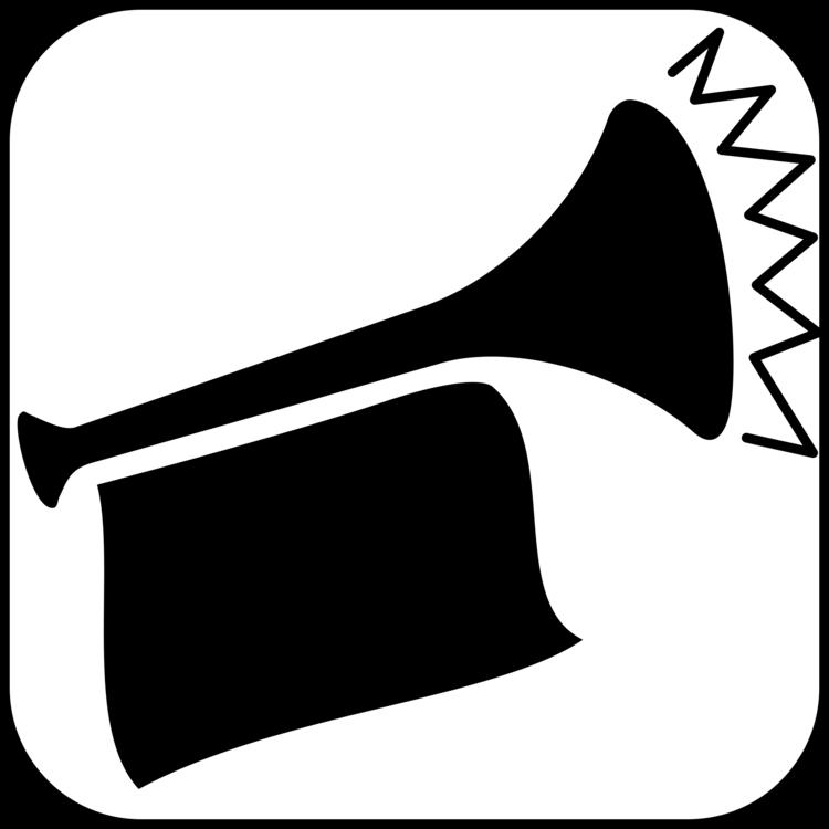 Fanfare trumpet Music Horn CC0 - Silhouette,Monochrome Photography
