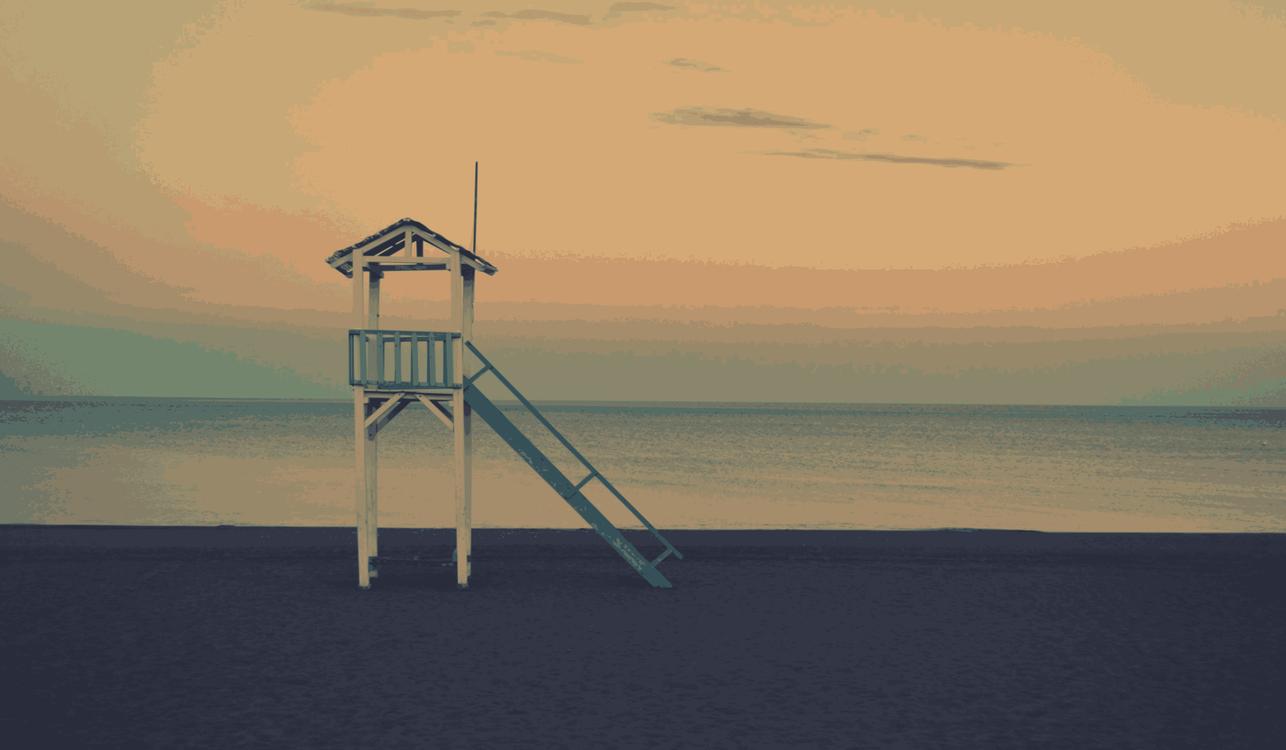 Evening,Horizon,Fixed Link