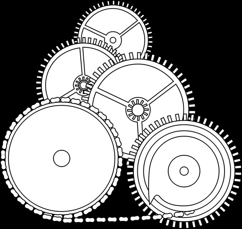 Gear Computer Icons Drawing Machine Antikythera Mechanism Cc0