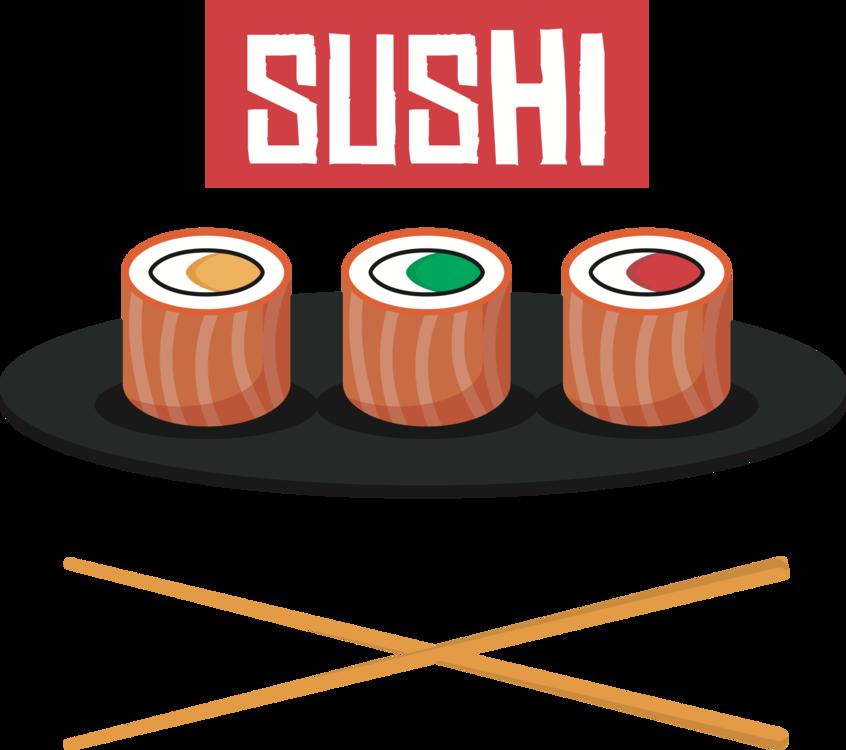 Orange,Line,Sushi