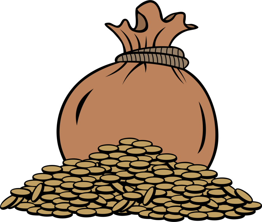gold coin money bag free commercial clipart coin gold coin bag