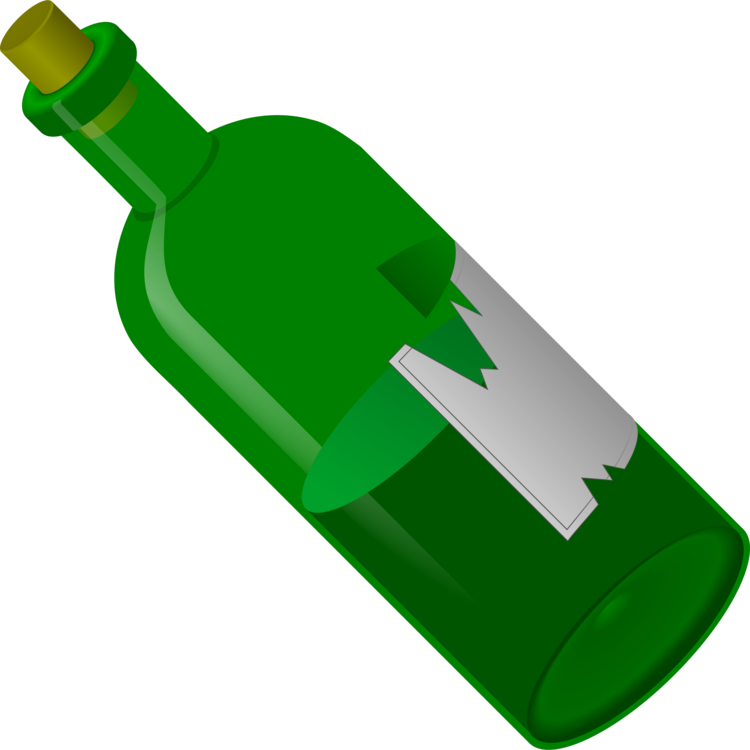 Glass Bottle,Green,Bottle