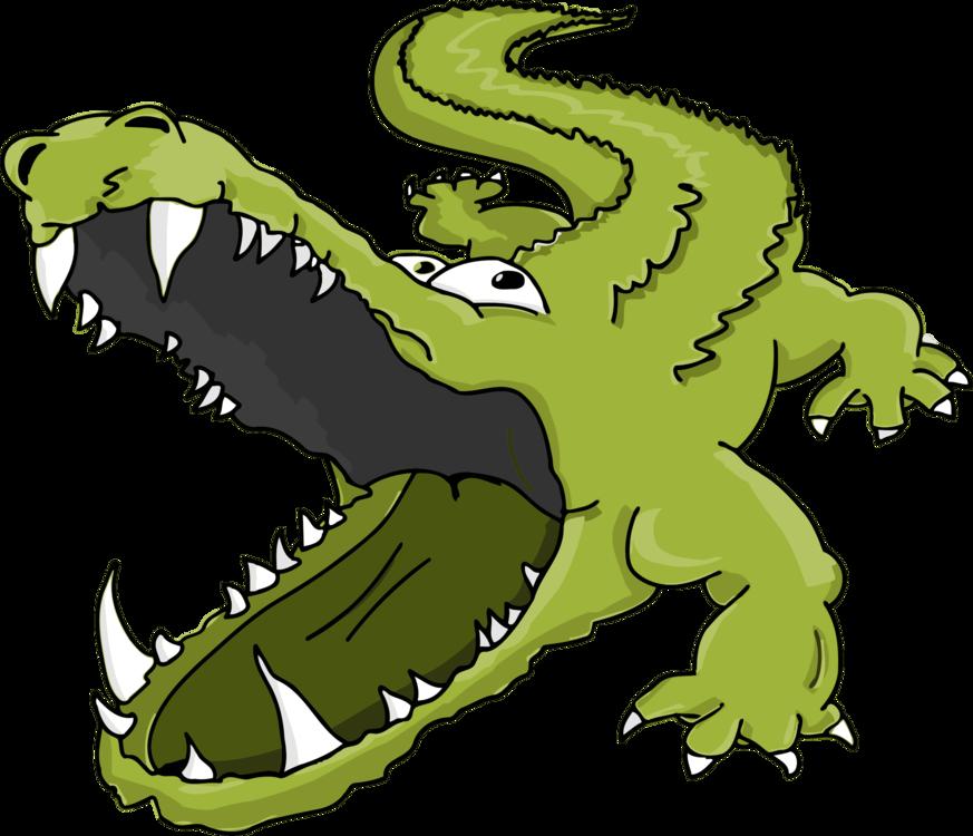 Reptile,Artwork,Crocodile