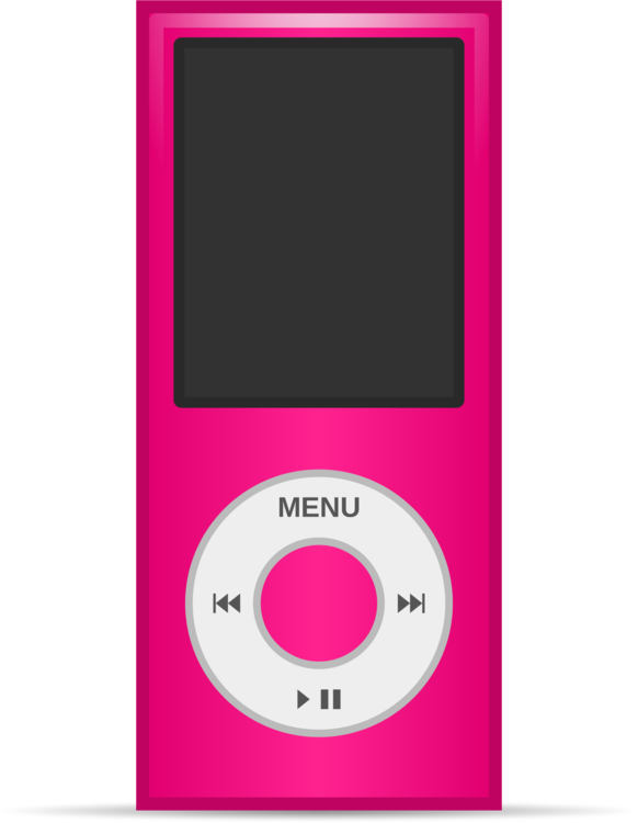 Pink,Purple,Ipod Clipart - Royalty Free SVG / Transparent