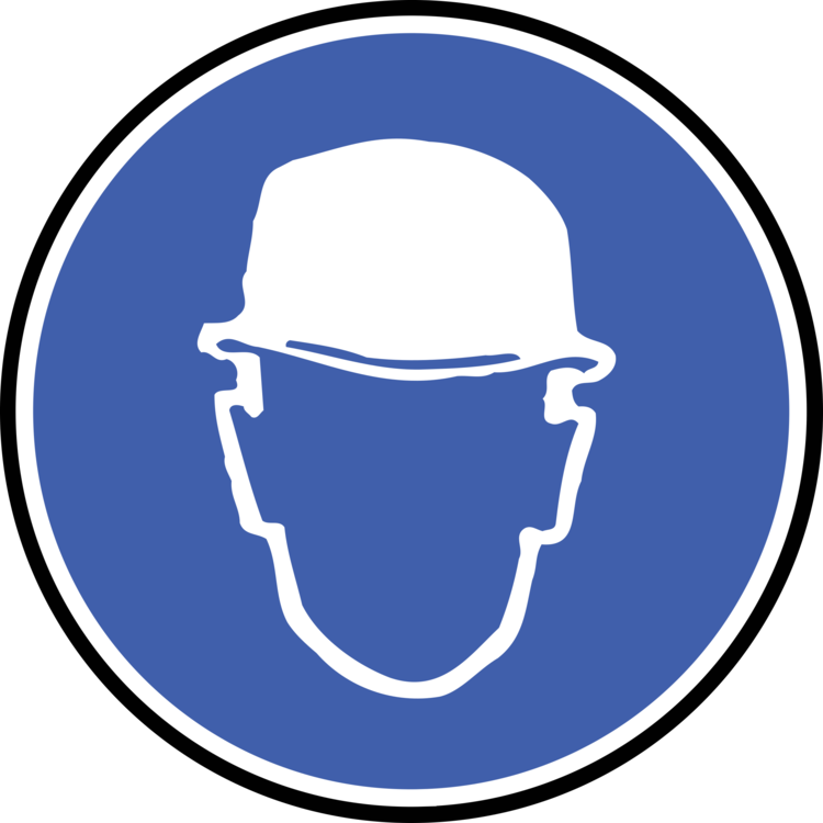Hard Hats Personal Protective Equipment Symbol Construction Free