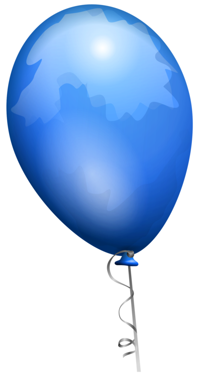 Blue,Sphere,Balloon