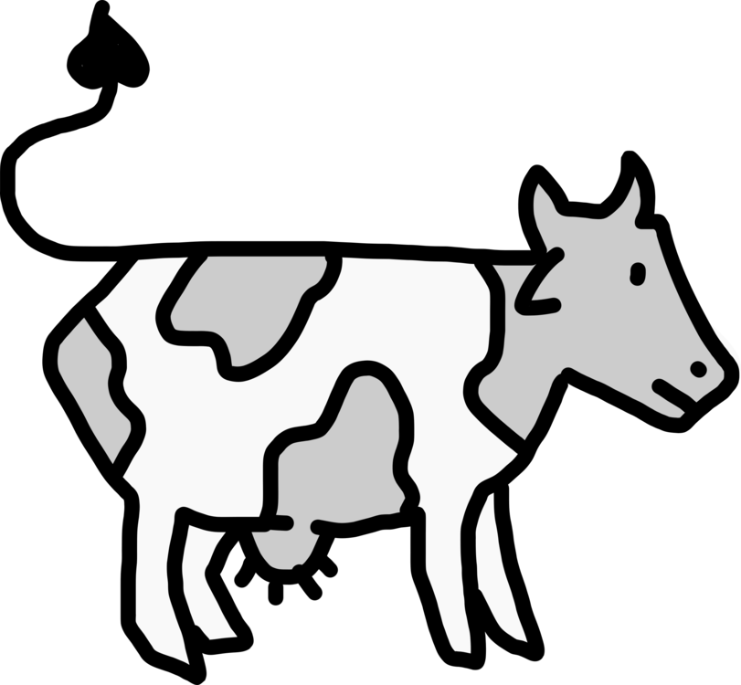 Beef Cattle Dairy Drawing Cartoon