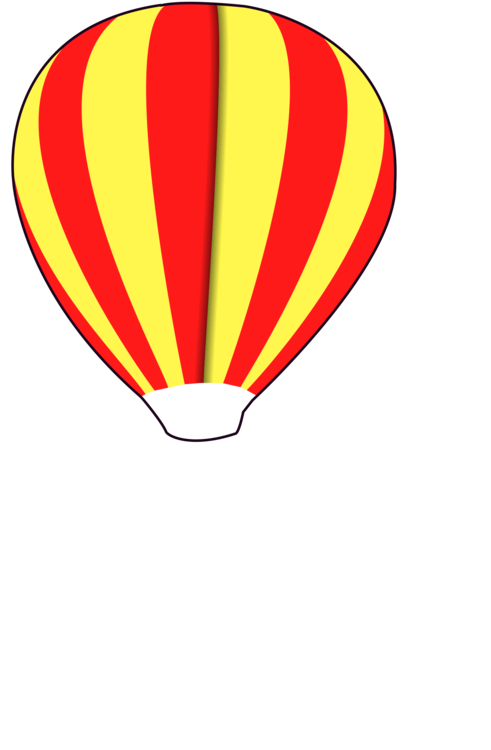 Balloon,Yellow,Hot Air Balloon