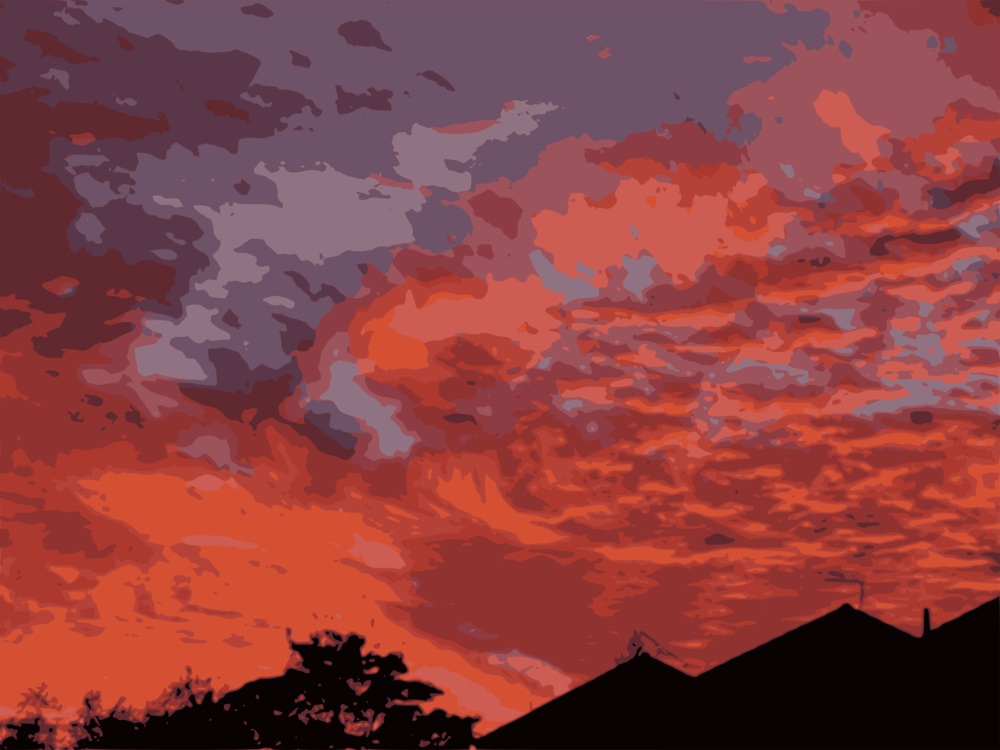 Atmosphere,Evening,Red Sky At Morning