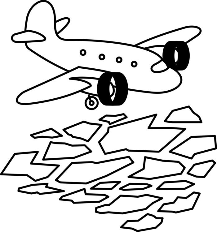 Airplane Coloring book Drawing Line art free commercial clipart ...