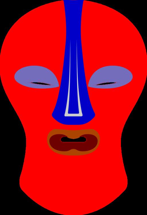 Head,Neck,Electric Blue
