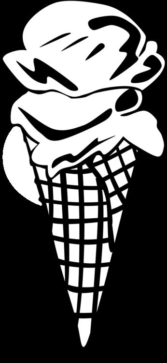 Line Art,Head,Ice Cream Cone