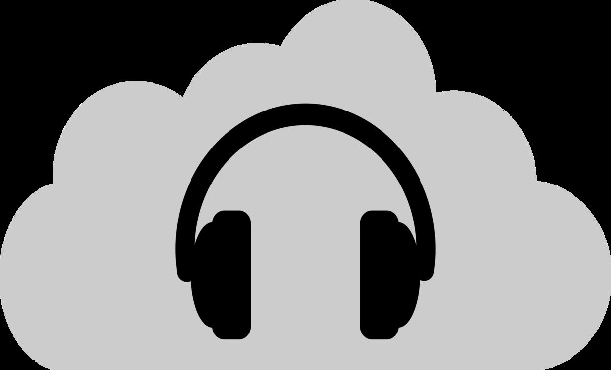 Silhouette,Headphones,Monochrome
