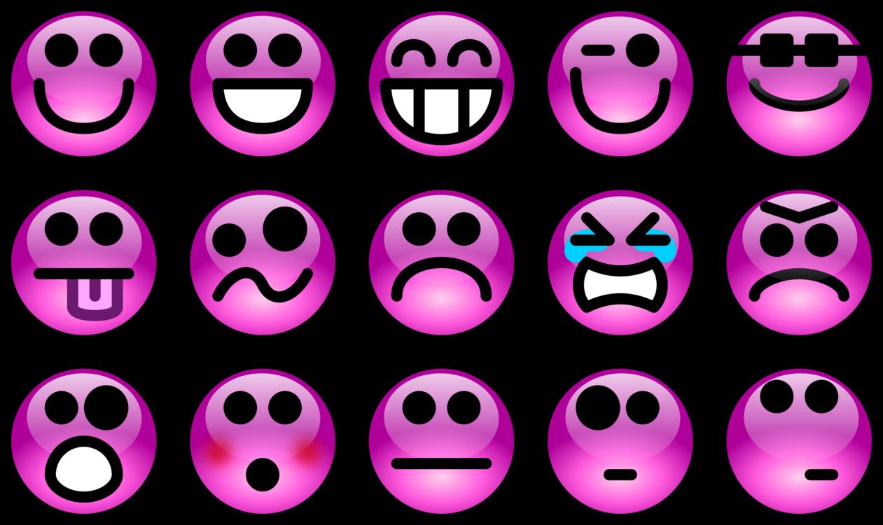 Pink,Emoticon,Text